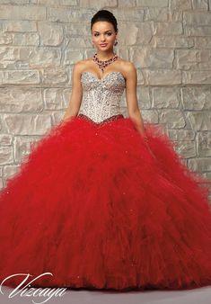 53 Mejores Imágenes De Vestidos De 15 Años Color Rojo