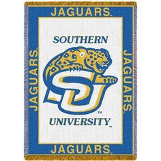 Southern University Blanket Throw Woven Tapestry