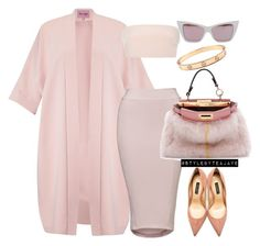 """""""Untitled #1561"""" by stylebyteajaye ❤ liked on Polyvore featuring Phase Eight, Monique Lhuillier, Fendi, Quay and Dolce&Gabbana"""