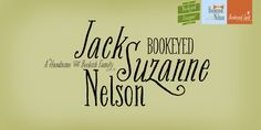 Font Friday: Bookeyed Nelson