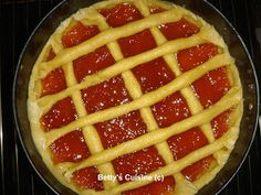 Betty's Cuisine: Πάστα φλώρα Greek Desserts, Greek Recipes, Sweets Recipes, Pasta Recipes, World Recipes, Tea Time, Waffles, Deserts, Food And Drink