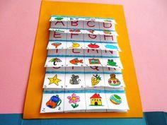 Lapbook letterine e paroline - MaestraRenata