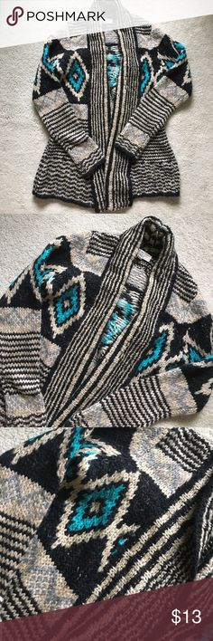 Cardigan size xsmall Excellent condition #boho #hippie #tribal #fall #warm PacSun Sweaters Cardigans