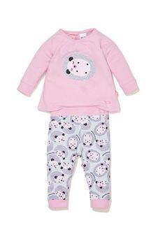 f1ced41fa5 Baby Girls Hedgehog Pj Set Baby Girl Pajamas