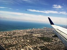 Chicago Airplane View, Places Ive Been, Chicago