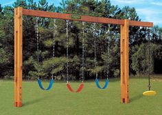 Freestanding swingset
