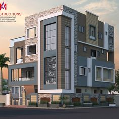 Architecture Discover Exteriors and architectural classic style houses by m.a constructions classic Best Modern House Design, Modern Exterior House Designs, Bungalow House Design, House Design Photos, House Front Design, Small House Design, Exterior Design, Residential Building Design, Home Building Design