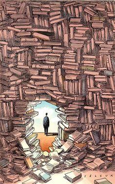 I love reading.