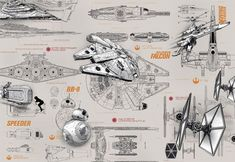 Giant size Star Wars starships paper wallpaper. Amazing decoration idea wall mural photo wallpaper for home interior walls. Living room or bedroom.  Express sipping available.