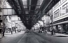 Old Photos of Queens, N.Y. | Jamaica Avenue, Queens, mid-1930s. From Old Queens, NY in Early ...