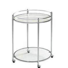 Offex Veranda Round Bar Cart