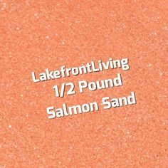 Items similar to Salmon Colored Sand for Wedding Unity Sand - Craft Projects, Kids Play or Fairy Garden - Pound on Etsy Unity Sand, Colored Sand, Sand Crafts, Salmon Color, Kids Playing, Craft Projects, Wedding, Diy Colored Sand, Valentines Day Weddings