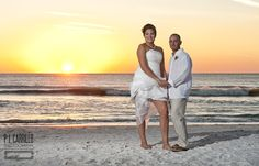 Congratulations Brittany and James on your wedding at the Lions Club Beach House in Sunset Beach Treasure Island Florida. http://gulfbeachweddings.com/ - http://plcarrillophotography.com/