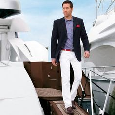 Nautical Chic for Men. Again must serve only white wines. Champagne of course - Men's Tank - Ideas of Men's Tank - Nautical Chic for Men. Again must serve only white wines. Champagne of course always works. Cruise Attire, Cruise Outfits, Nautical Outfits, Nautical Fashion, Nautical Clothing, Yacht Wedding, Nautical Wedding, Chic Wedding, Boat Wedding