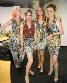 Girls from Maastricht, Mercedes Benz catwalk www.tessakoops.com