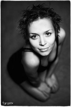 By Tarasov  #portrait #black and white #photos