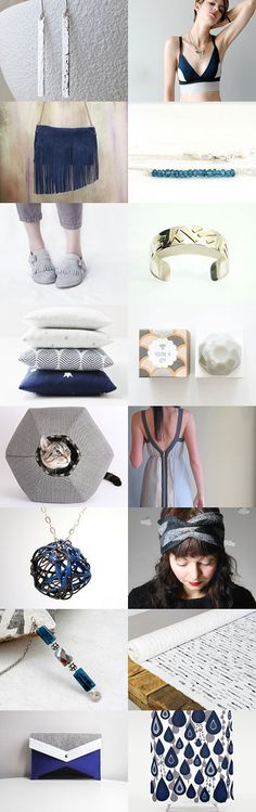 blue and gray monday by Lori on Etsy--Pinned with TreasuryPin.com