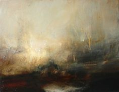 William Turner - my favorite artist. Abstract Landscape Painting, Landscape Art, Landscape Paintings, Abstract Paintings, Abstract Art, Turner Painting, Painting & Drawing, Encaustic Painting, Art Romantique