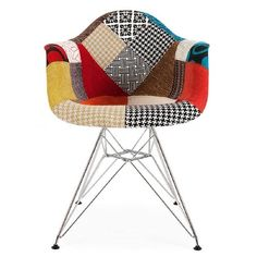 Eames Patchwork Chair  .. i lurve patchwork!!