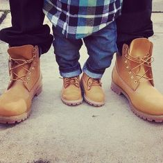 Pass down style #family #timberland #yellowboot