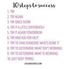 Good morning!!  #goodmorning #stepstosuccess #try #itsthursday #motivation