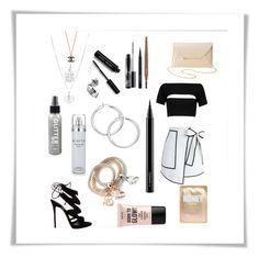 Designer Clothes, Shoes & Bags for Women Effy Jewelry, Nyx, Giuseppe Zanotti, Bobbi Brown, Alexander Wang, Mac Cosmetics, Charlotte Russe, Black And White, Shoe Bag