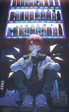 Anime Angel, Anime Gifts, Cute Anime Guys, Anime Scenery, Beautiful Anime Girl, Boy Illustration, Anime Art Girl, Kawaii Girl, Game Art