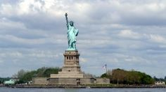 Preview wallpaper statue of liberty, new york city, liberty island 1366x768