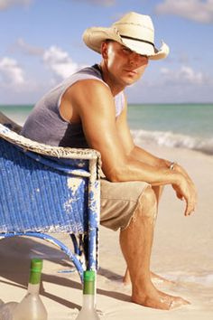 """From that chair I caught a few fish and some rays, and I've watched boats sail, in and out of Cinnamon Bay. I let go of a lover, that took a piece of my heart, prayed many times for forgiveness and a brand new start."" Kenny Chesney - ""Old Blue Chair"""