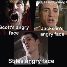 """Stiles' angry face > All angry faces 21 Jokes Only """"Teen Wolf"""" Fans Will Find Funny Teen Wolf Memes, Teen Wolf Quotes, Teen Wolf Funny, Teen Memes, Stiles Teen Wolf, Teen Wolf Dylan, Teen Wolf Cast, Colton Haynes Teen Wolf, Only Teen"""