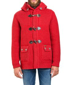 Mens Jackets, Parka and K-way Red Parka, T Dress, Duffle Coat, Best Brand, Style Fashion, Men Sweater, Pullover, Wool, Sweaters