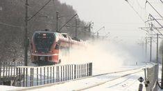 Штадлерские дизель-поезда на ст. Лагеди / Stadler DMU trains at Lagedi s...
