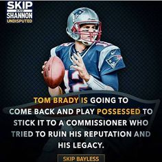 First time I agree with skip bayless