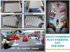 DIY Play Parking Garage - YouTube
