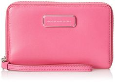 Marc by Marc Jacobs Ligero Wingman Small Good Wallet, Fuchsia Purple, One Size -- Continue to the product at the image link.