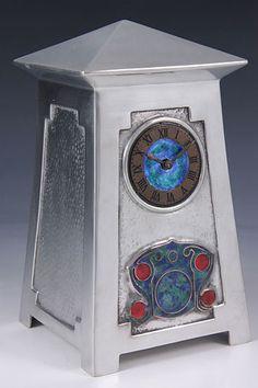 Liberty & Co. Architectural Clock - Archibald Knox - Arts & Crafts