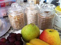 Potinhos para guardar alimentos. Uma dica do blog Casa casada.