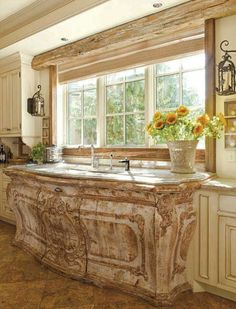 French Kitchens 99 french country kitchen modern design ideas (38) | dreamy