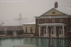 Snow Day in the Village PuddleWonderful Photography