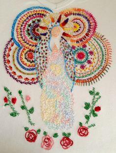 #embroidery #bordado #Guadalupe