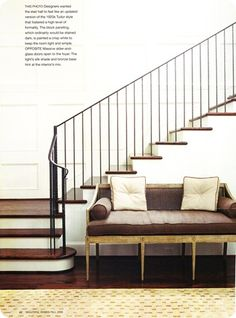 Designing Your Dream Home: Staircase Railing Part One: Iron