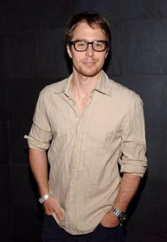 Sam Rockwell I totally dig guys wearing glasses.