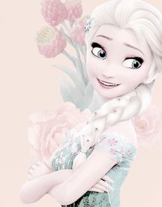 elsa, frozen, and disney image Disney And More, Disney Love, Disney Magic, Disney Art, Frozen And Tangled, Frozen Heart, Frozen Movie, Anna Y Elsa, Frozen Elsa And Anna