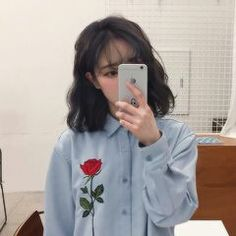 Image shared by 노을 ☾. Find images and videos about girl, korean and ulzzang on We Heart It - the app to get lost in what you love. Pelo Ulzzang, Ulzzang Hair, Korean Ulzzang, Korean Fashion Trends, Asian Fashion, Fashion Beauty, Cute Korean, Korean Girl, Asian Girl