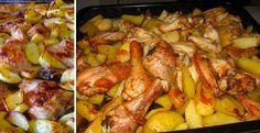 Pečené kuře je populárním a chutným jídlem. Řada lidí ho však dělá zbytečně složitě. Proč? Jelikož upečou zvlášť maso a dále chystají zvlášť přílohu Chicken Wings, Meat, Food, Essen, Meals, Yemek, Eten, Buffalo Wings