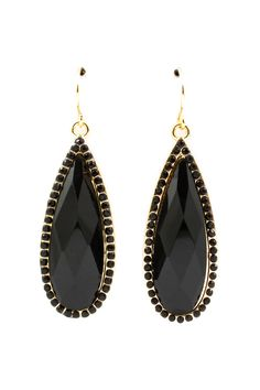 #Ladies #Ebony Ella #Teardrop #Earrings