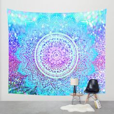 Hey, I found this really awesome Etsy listing at https://www.etsy.com/au/listing/247443591/mandala-wall-tapestrycolorful-mandala