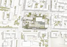 Schmidt Hammer Lassen Wins Competition for Redevelopment of Riga Historic Quarter,Site plan. Image Courtesy of Schmidt Hammer Lassen Architects