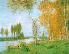 The Spring in Argentuil - Claude Monet