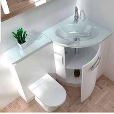 en.iyiler.burada ❤❤ .  Küçük banyolara Şahane çözüm 🤗 . . . .  #miss #duzendelisi #dekor - #regrann  #duzen #dekor #dekoratif